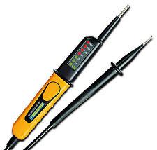Spannungsprüfer Stromprüfer Strommesser Prüfer Strom Tester 2-polig 6 - 400 Volt
