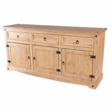 Wood Buffet Sideboard Corona Gray | Furniture Dash