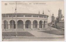 Gand Exhibition 1913 postcard - Le Halle International