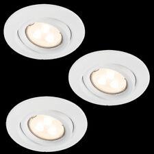 230v LED montaje luces 3x3, 5w blanco gu10 instalación lámparas mantas instalación lámparas 110mm