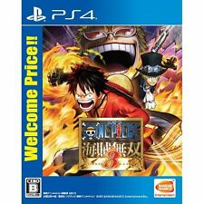 One Piece: Musou 3 Welcome price!! SONY PS4 PLAYSTATION 4 JAPANESE NEW JAPANZON