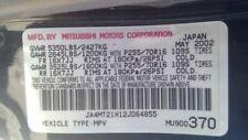 Engine 30l Vin H 8th Digit Fits 02 03 Montero Sport 3559205 1 Fits 2002 Mitsubishi Montero Sport