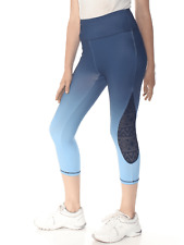 NWT C&C California Women's Leggings Ombre Sky Sapphire Gym Gear Size Large