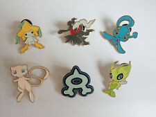 Pokemon TCG Official Pin Badges Pikachu Mew Shaymin Celebi Jirachi and more