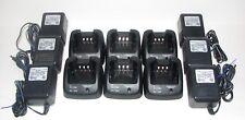 6 BC-160 Rapid Chargers For Icom Radios  IC F14 F24 F3011 F3021 F43 F9011 BC160