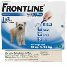 Frontline Spot On Flea and Tick treatment for Medium Dogs (3 Pipettes)