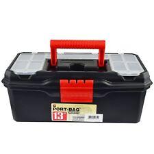 "13"" Maestro Toolbox with Handle / Holdall / Plastic Box / DIY Storage Box TE451"