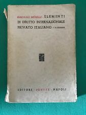 ELEMENTI DI DIRITTO INTERNAZIONALE PRIVATO ITALIANO - Gaetano Morelli