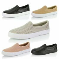 DailyShoes Causal Walking Shoes Low Top Slip On Flat Loafer Sneakers Comfy Shoes