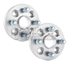 "2 Wheel Spacers FOR SUBARU LEGACY Hub 5 Lug Bolt Aluminum Adapters 1"" 5X100"