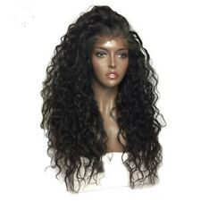 8A 180% Density Unprocessed Brazilian 360 Lace Frontal Water Wave Human Hair Wig