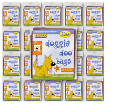 Snappies Doggie Doo Bags 400 Bags (20 x 20 Packs) + Odour Neutralising Fragrance