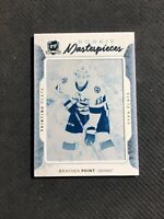 2016-17 UD THE CUP BRAYDEN POINT ROOKIE MASTERPIECES ICE PRINTING PLATE #ed 1/1