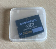 Olympus 512 MB - xD picture card and case.