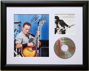 Bruce Springsteen / Signed Photo / Autograph / Framed / COA