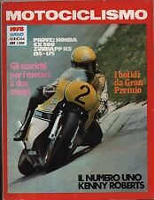 MOTOCICLISMO - LUGLIO 1978 - HONDA CX 500 - ZUNDAPP KS 125 175 - BMW R 45 65