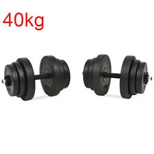40kg Dumbbell Set Home Gym Weights 20kg Each 40 Kg Total Weight Exercise Workout