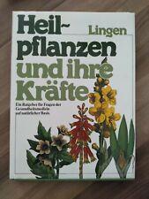 Gut erhaltenes Buch über Heilpflanzen und ihre Kräfte