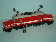 LEGO-Eisenbahn 4551 Krokodil-Lokomotive mit 9V-Motor, TOPP-Zustand, RAR  !