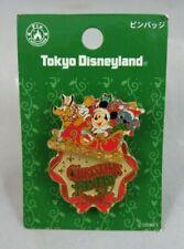 Disney Tokyo Disneyland Tdl Pin - Christmas Fantasy 2007 Mickey Pluto and Stitch