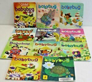 Baby Bug Books Lot (11) Cricket Media.Children/Learning 2016-2018 + Others MEDPL