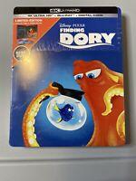 Finding Dory Steelbook (4K Ultra HD + Blu-ray) New Sealed