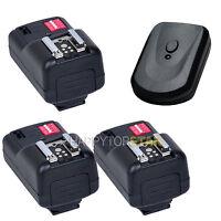 PT16 Wireless Remote Flash Trigger 3 Receivers for Nikon Canon EOS Pentax Sigma