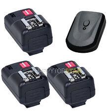 PT-16 Wireless Remote Flash Trigger 3 Receiver for Nikon Canon Pentax Fujifilm