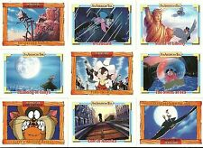 AN AMERICAN TAIL : FIEVEL GOES WEST - COMPLETE SET OF 150 CARDS - JAMES STEWART
