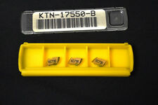 BOX OF 3 KENNAMETAL 63492517550 TOP KNOTCH CARBIDE THREADING INSERTS KC730