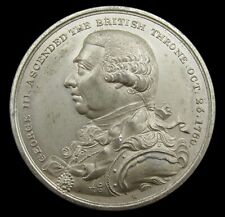 More details for 1820 death of george iii 48mm wm medal - by kuchler
