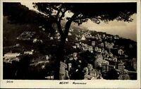 Nervi Genua Italien alte Ansichtskarte 1933 gelaufen Panorama Gesamtansicht