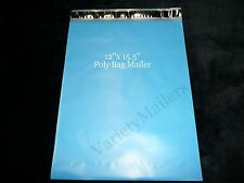 14 Large Blue Poly Bag Mailers 12x155 Big Self Sealing Shipping Bags