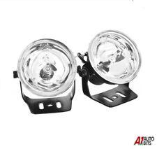 12V UNIVERSAL FOG SPOT LIGHTS LAMPS CAR VAN 60MM CLEAR