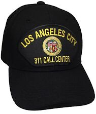 City Of Los Angeles Hat 311 Call Center Color Black Adjustable