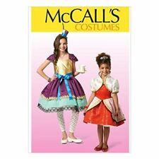 McCall's Patterns MC7036 CHJ,Children's/Girls Costumes,Sizes 7-8-10-12-14