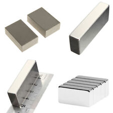 Wholesale Super Block Magnets All Big Size Rare Earth Neodymium N52  2