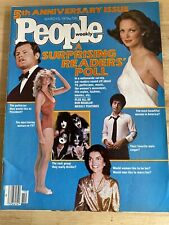 1979 MARCH 5 PEOPLE MAGAZINE - 5TH ANNIVERSARY - BEAUTIFUL FRONT COVER - C 4262