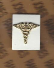 US ARMY Officer Medical Corps Branch uniform dress clutchback badge C