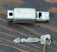 Vintage Swiss Army Bicycle Frame LOCK & KEY Prewar Military Cruiser Bike Fixie