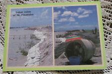 vintage Lahar ruins of Mt. Pinatubo post card