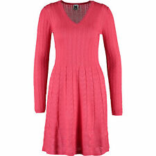 MISSONI  Women's Pink Knit Skater Dress, size UK12