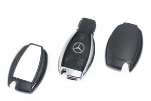 Für Mercedes Key Cover Schlüssel Cover Funk Fernbedienung Abdeckung Schwarz