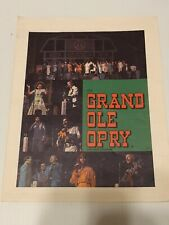 1982 The Grand Ole Opry Souvenir Program VINTAGE