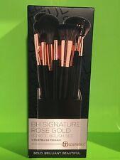 BH Cosmetics Signature Rose Gold 13 Piece Brush Set.New