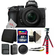 Nikon Z50 Mirrorless Digital Camera with 16-50mm Lens + Top Accessory Kit