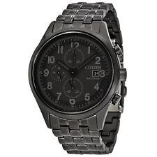 Citizen Chandler Black Dial Mens Chronograph Watch CA0625-55E
