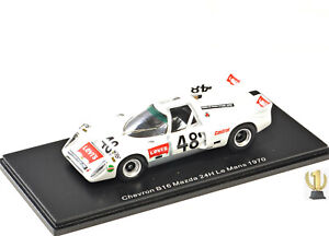 1:43 Spark S9400 Chevron B16 Mazda, 24hrs Lemans 1961, #40