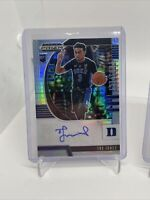 2020-21 PRIZM DRAFT PICKS RC TRE JONES HYPER SILVER GREEN RED AUTO RC LOT