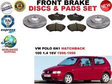 für VW Polo 6N1 100 1.4 16V Fließheck Vorderbremse Scheibensatz + BREMSBELÄGE